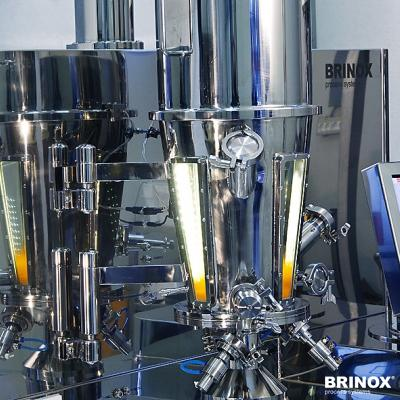 Units for production of solid products, brinox